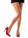 Belle gambe delle donne fotografie stock libere da diritti