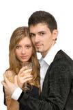 Belle giovani coppie Immagini Stock Libere da Diritti