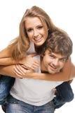 Belle giovani coppie Immagini Stock