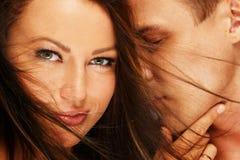 Belle giovani coppie Fotografia Stock