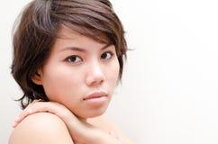 Belle giovani donne asiatiche Immagini Stock