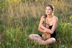 Belle giovani donne etniche Fotografie Stock