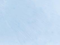 Belle glace bleue d'abstraction Photo libre de droits