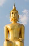 Belle grande statue de Bouddha dans Ubonratchani, Thaïlande Images stock