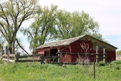 Belle grange Image libre de droits
