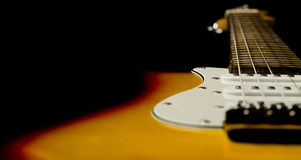 Belle guitare Image stock