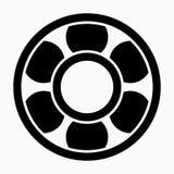 Belle icône de vecteur d'incidence de Glyph illustration libre de droits