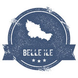 Belle Ile logo sign. Stock Photography