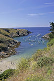 Belle-Ile, Port Goulphar, France Royalty Free Stock Photos