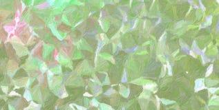 Belle illustration abstraite de peinture verte et pourpre d'Impasto d'impressionniste Fond utile pour votre conception images libres de droits