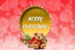 Belle illustration de fond de Noël avec illustration de vecteur