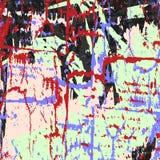 Belle illustration douce abstraite de vecteur de modèle de graffiti Photos stock