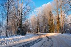 Belle image de l'hiver landscape Photo stock