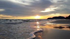 Belle immagini alla spiaggia immagine stock libera da diritti
