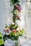 Belle installation de mariage Photo stock
