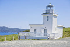 Belle Island Lighthouse. Is an operational lighthouse and is found on the picturesque north east end of Belle Island, Newfoundland, Canada royalty free stock photos