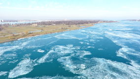 Belle Isle Artic Ice Splendor Images stock