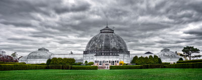 Belle Isle Conservatory in Detroit, Michigan Stock Images