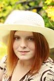 Belle jeune dame Image libre de droits