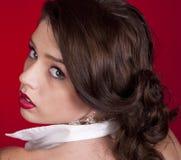 Belle jeune femme Image libre de droits
