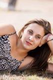 Belle jeune femme Image stock