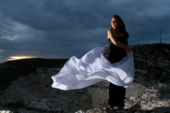 Belle jeune femme Photo libre de droits