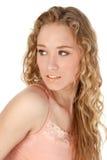 Belle jeune femme Photo stock