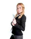 Belle jeune femme d'affaires image libre de droits