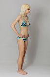 Belle jeune femme dans le bikini Photographie stock libre de droits