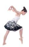 Belle jeune femme de ballerine Images libres de droits