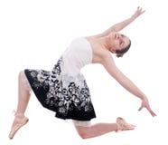 Belle jeune femme de ballerine Image libre de droits