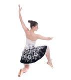 Belle jeune femme de ballerine Photographie stock
