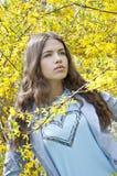 Belle jeune femme de mode Image libre de droits