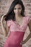 Belle jeune femme exotique photos stock