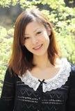 Belle jeune femme japonaise Images stock