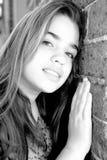 Belle jeune fille Image libre de droits