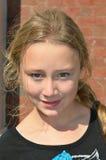 Belle jeune fille Images libres de droits