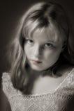 Belle jeune fille Image stock