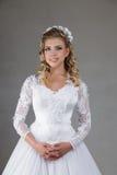 Belle jeune mariée Photographie stock