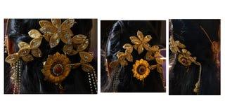 belle jeune mariée indienne  Photo stock