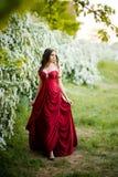 Belle jeune princesse photographie stock