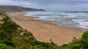Belle Johanna Beach dans Victoria Photos stock