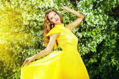 Belle lady Royalty Free Stock Photography
