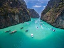 Belle lagune de PiLeh Photo libre de droits