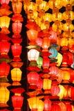 Belle lanterne thaïe de type Image libre de droits
