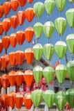 Belle lanterne thaïe de type Photos libres de droits