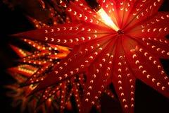 Belle lanterne tradizionali accese in occasione del Fe di Diwali Fotografie Stock