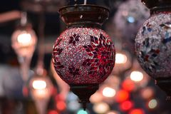 belle lanterne variopinte ed immaginative fotografia stock libera da diritti