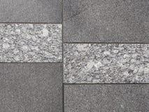 Belle lastre di marmo grige fotografia stock