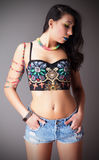 Belle Latina Photographie stock